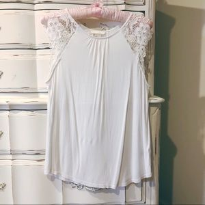 H&M brand new without tags lace cotton top